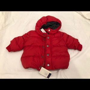 New Baby Gap Puffer Winter Jacket